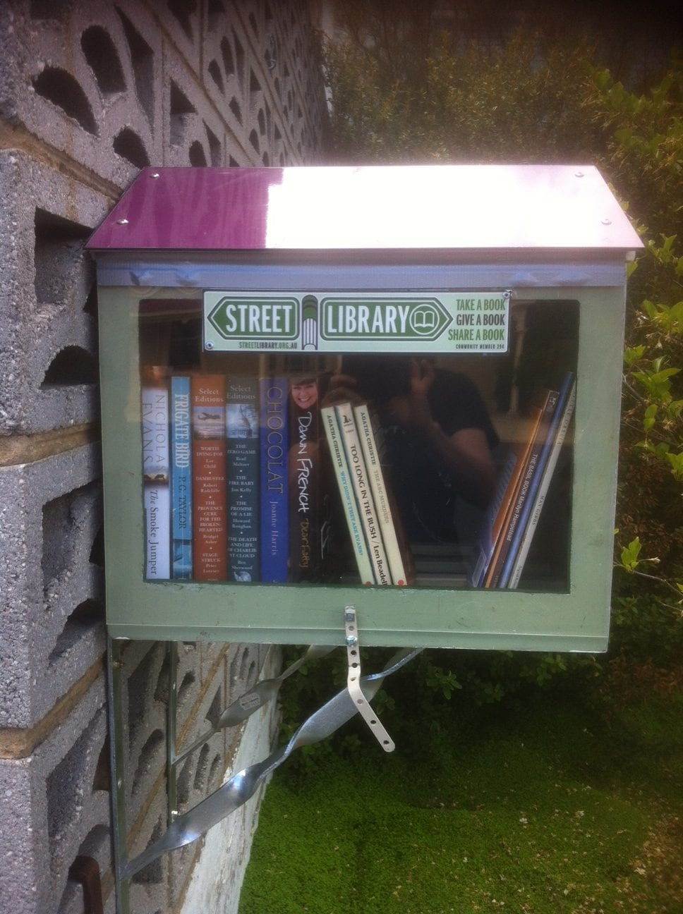 Street Library on Central