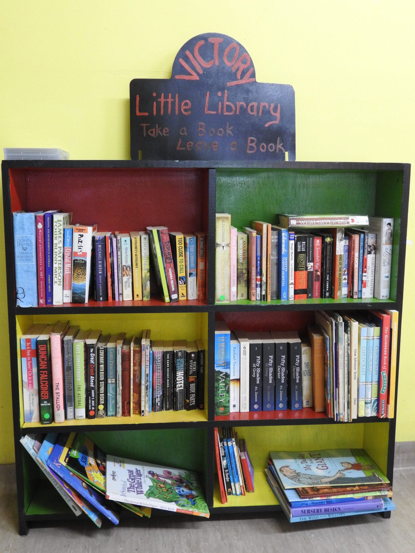 Victory Cafe Little Library