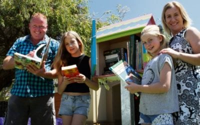 Street Library: Myaree mum envisions community book swapping | Community News Group
