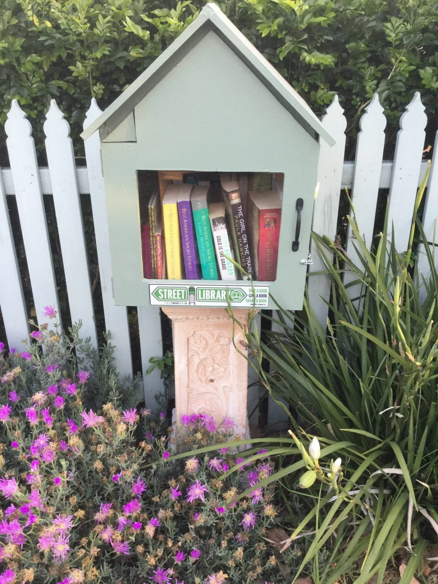 The little green library