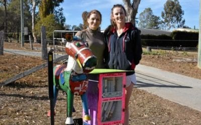 PRINTS CHARMING: Warwick first in community street library | Warwick Daily News