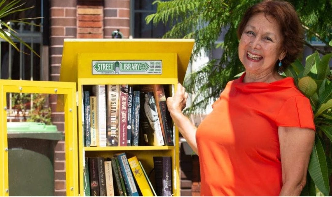 Matraville writer sets up street library in front garden | News Local