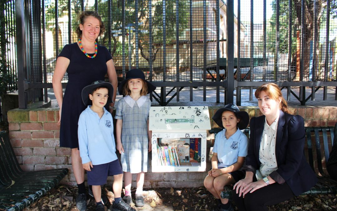 Stampede to Stanmore Public Street Library