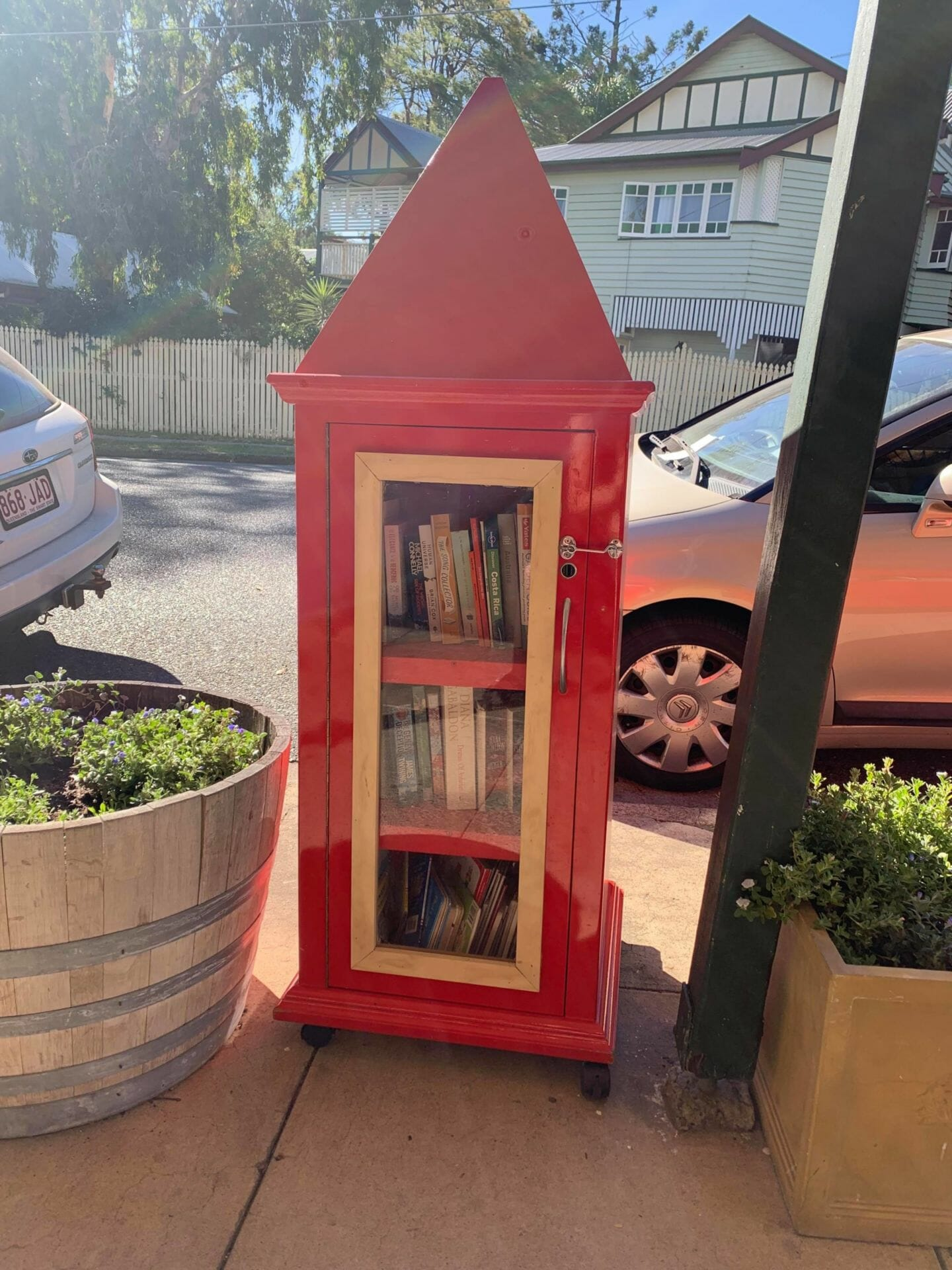Nowhere Community Street Library