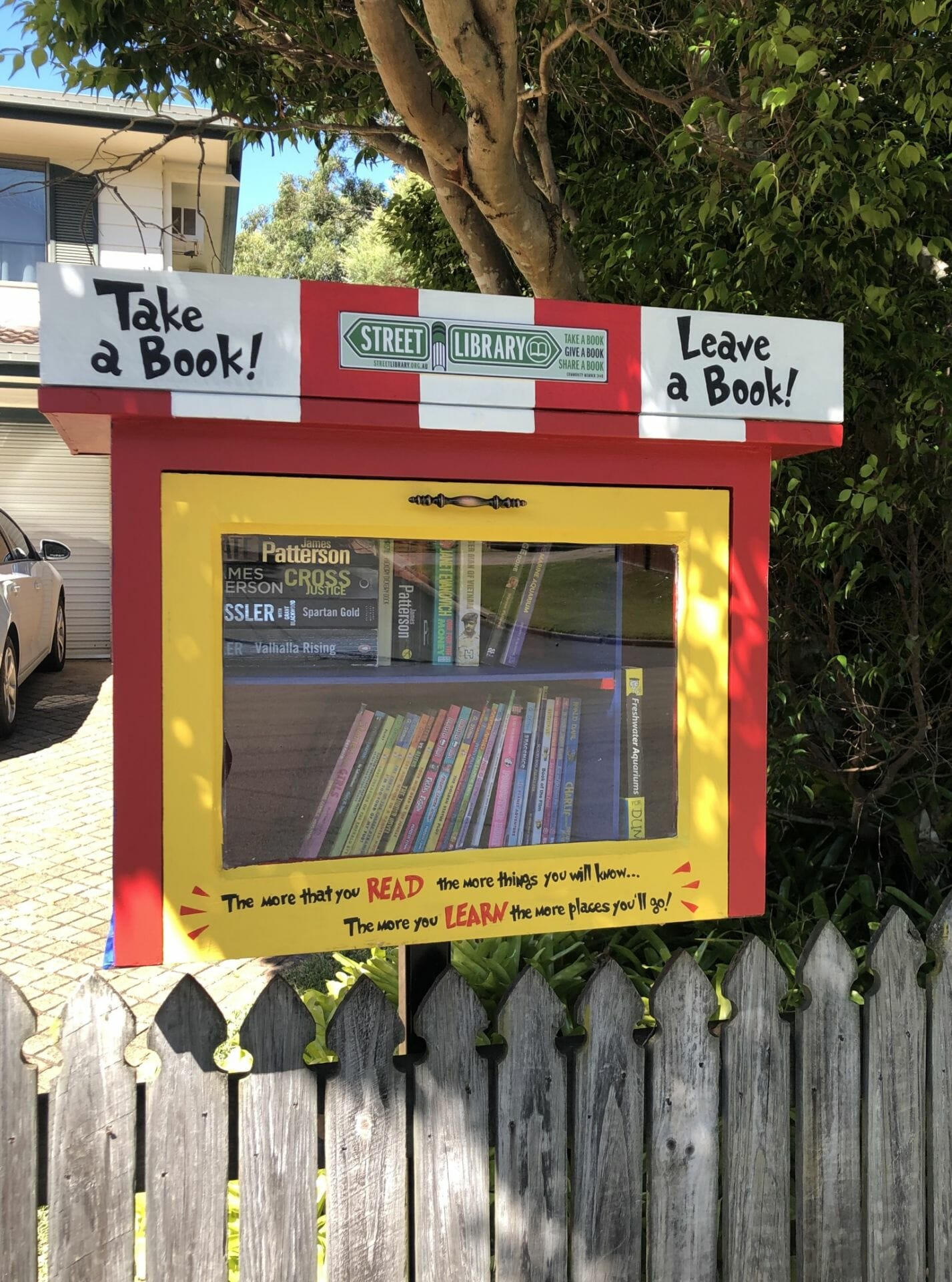Currawong Drive Street Library