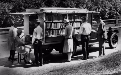 Before Amazon, We Had Bookmobiles: 75 Rare Photos Of Libraries-On-Wheels
