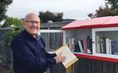 The street library is open – MPNEWS
