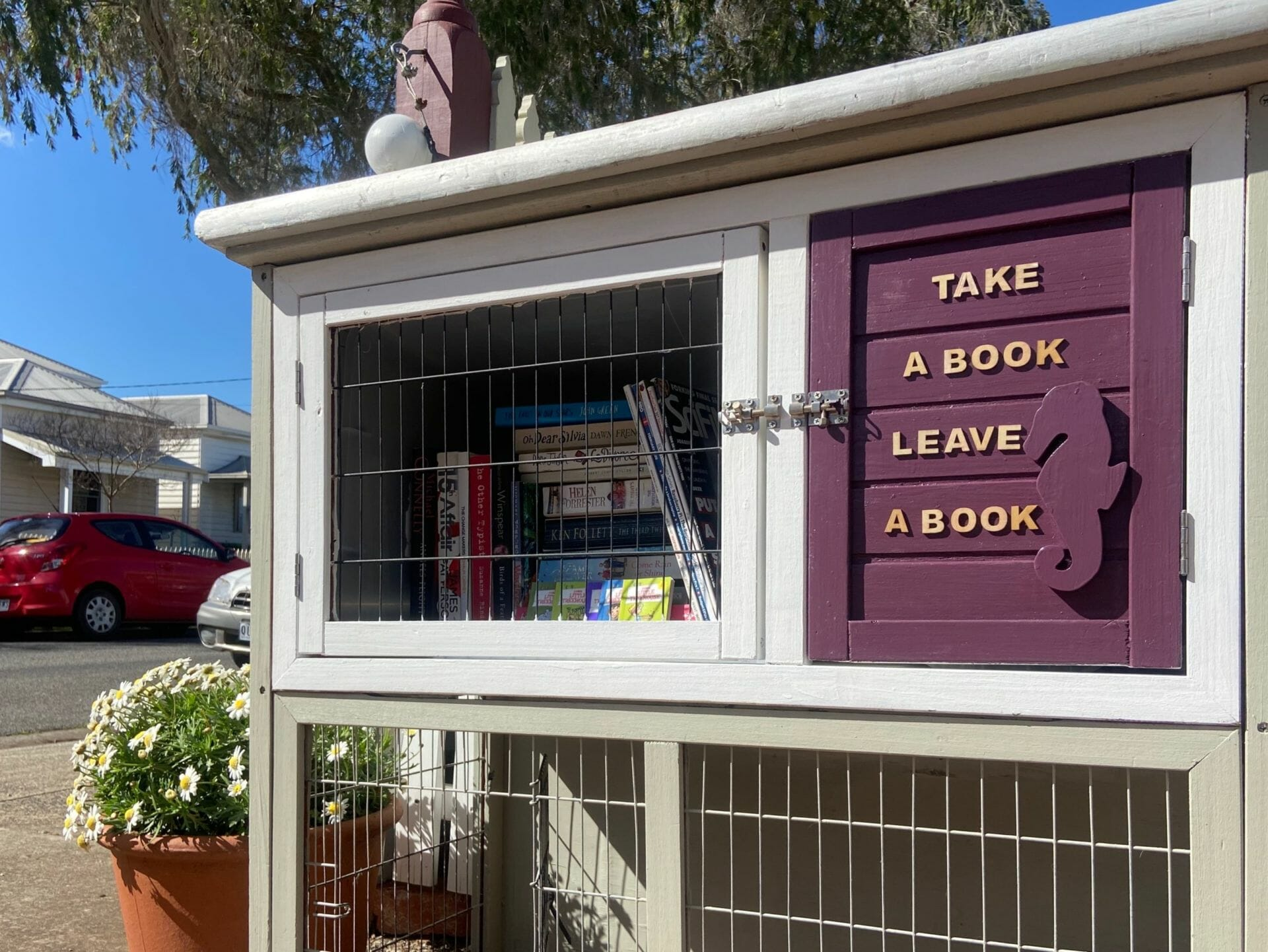 Little Library by the Sea