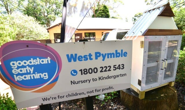 Goodstart West Pymble Library in collaboration with Hornsby Men's Shed