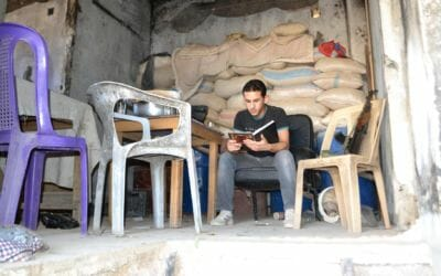 Hunting for books in the ruins: how Syria's rebel librarians found hope